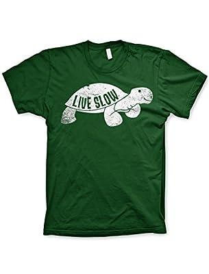 Live slow turtle shirt funny tshirts funny animal shirt