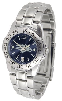 SunTime Nevada Wolf Pack Sport AnoChrome Ladies Watch with Steel Band
