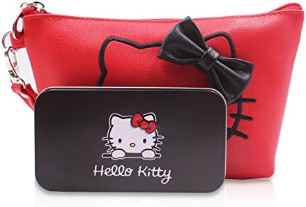 Amazon.com: Finex Hello Kitty - Juego de neceser y brochas ...