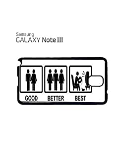 Good Better Best Game Console Mobile Cell Phone Case Samsung Note 3 White by icecream design