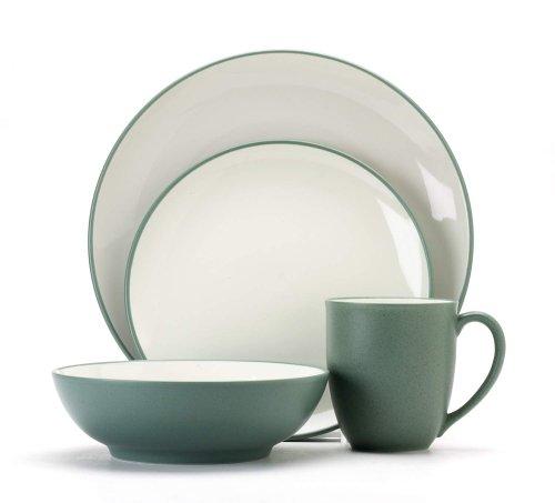 (Noritake Colorwave Green 16-Piece Dinnerware Set, Service for 4)