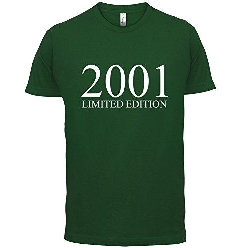 2001 Limierte Auflage / Limited Edition - 16. Geburtstag - Herren T-Shirt - Flaschengrün - M