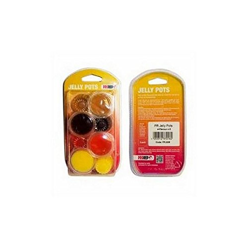 Price comparison product image PROREP Jelly Pots 4 Flavours 8 Pack Blister (150g)