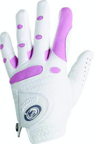 Bionic Women's Classic Pink Golf Glove, Left Hand, Medium