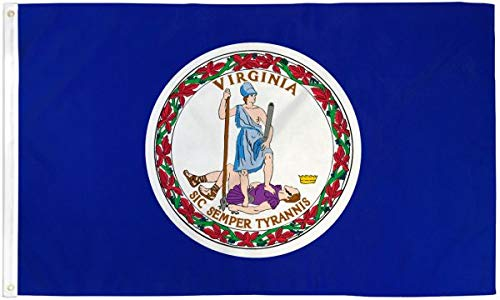 Virginia Flag 2x3ft Poly