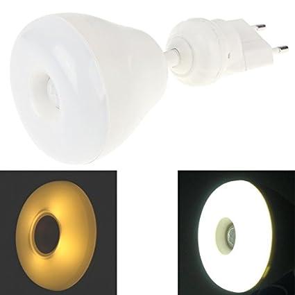 Bombillas, 2 en 1 360 grados 5 W LED PIR sensor de movimiento de la