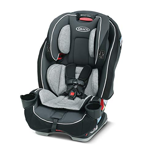 Graco SlimHave compatibility 3 in 1 Car Seat | Slim & Comfy Design Saves Space in Your Back Seat, Anabele