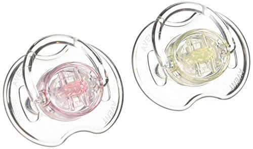 philips-avent-translucent-orthodontic-infant-pacifier-clear-0-6-months-2-count