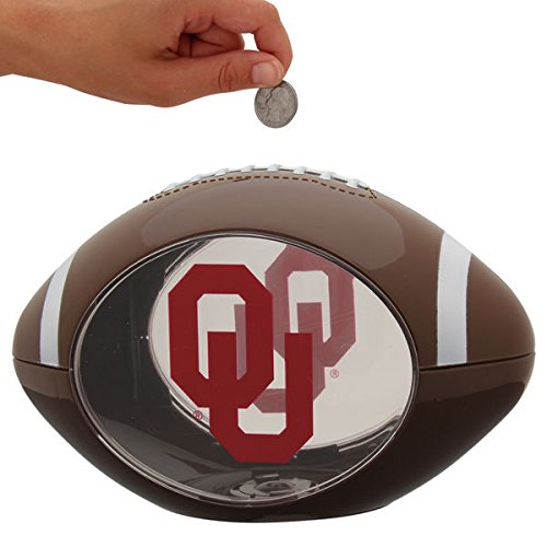 Oklahoma Sooners Piggy Bank - 2