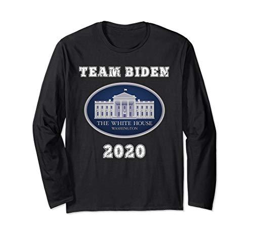 (Joe Biden 2020 Shirt Apparel President Vote Crazy Joe Biden Long Sleeve T-Shirt )