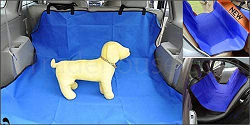 Walgreen/® BLUE CAR REAR SEAT WATERPROOF COVER BOOT LINER MAT PROTECTOR FLOOR TRUNK DOG UK