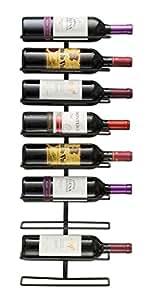 Sorbus Wall Mount Wine Rack (Holds 9 Bottles)