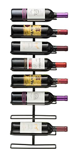 Sorbus® Wall Mount Wine Rack (Holds 9 Bottles)