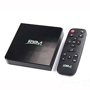 Doradus Rikomagic RKM MK68 RK3368 Octa Core 2GB/16GB XBMC 802.11ac 2.4G/5GHz WiFi Gbit LAN 4K H.265 Bluetooth Android 5.1 TV Box Mini Smart PC
