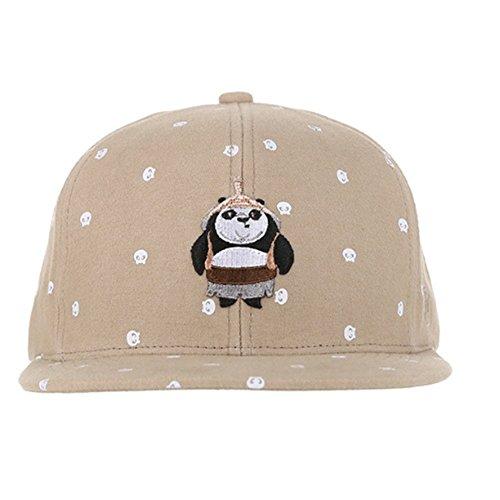 Hatson Kunfu Panda Collaboration Snapback Basic CAP Fasion HAT Unisex Free Size (307 BG) by HATSON