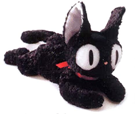 "Kikis Delivery Service 11.5"" Long Kikis Black Cat Jiji Beanie ..."