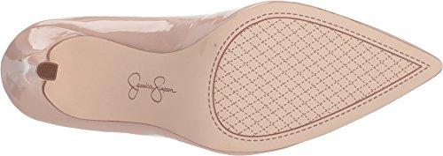 Jessica Simpson Kvindernes Cambredge Kjole Pump Nøgen Rødme Patent b9AjpePtUt