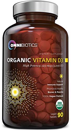 OmniBiotics Vitamin D3 Organic Vitamin D3