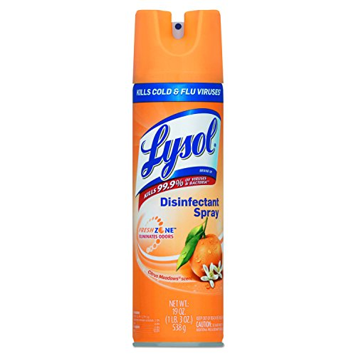 LYSOL Brand 81546CT Disinfectant Spray, Citrus Meadows, 19oz Aerosol (Case of 12) by Lysol