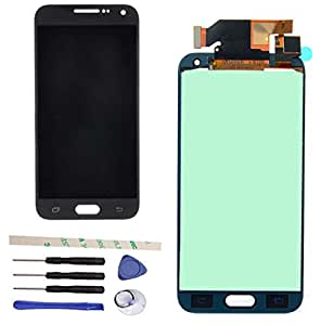 LCD Display Touch Screen Digitizer Assembly For Galaxy E5 E500 E500H E500M E500F E500DS ( Can Adjusting Brightness) (black)