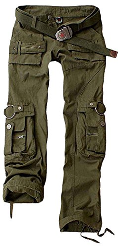 - Juicy Trendz Womens Trousers Army Military Ladies Casual Cargo Pants