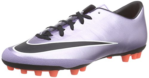 Nike Mercurial Victory V AG-R Mens Football Boots 717140 Soccer Cleats (US 7.5, Purple - Violett (Violett/Orange 580) (Nike Mercurial Victory Iv Fg Mens Football Boots)