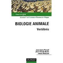BIOLOGIE ANIMALE VERTEBRES NP