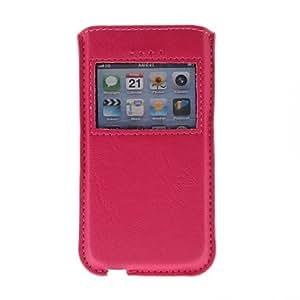 TY-Kinston Lujo Techo solar Tipo de caja de la PU del cuero del cuerpo para el iPhone 4/4S/5/5S/5C