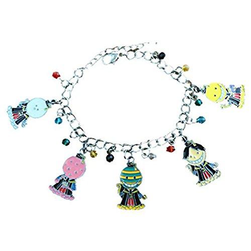 Assassination Classroom Charm Bracelet Quality Cosplay Jewelry Anime Manga Series with Gift Box
