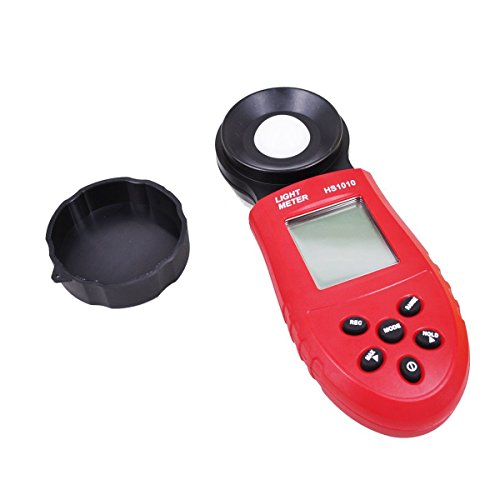 Heartte@ 200,000 Lux Digital LCD Pocket Light Meter Lux/FC Measure Tester (JC-GDY) by Heartte