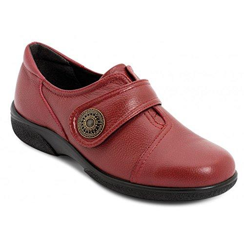 Danielle Pelle Velcro Delle Donne Rosso In Russett Scarpe Db Scarpe HqY1x6n6