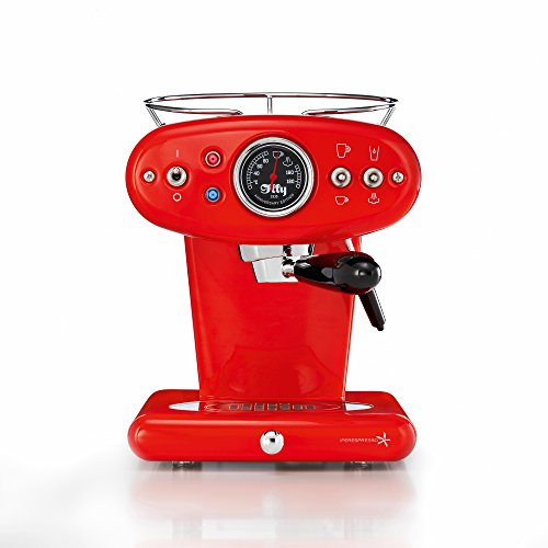 Illy X1 Anniversary Espresso Machine, Red