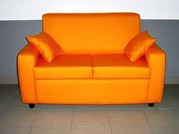 Divano 2 posti divanetto tessuto sofà in tessuto due posti: Amazon ...