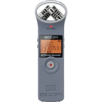 ZOOM H1 Handy Portable Digital Recorder (Gray)