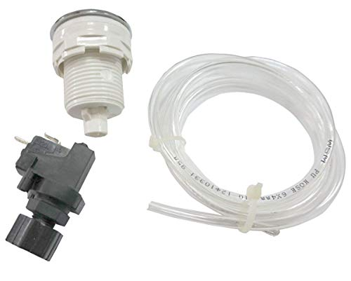 On Off Push Button Switch Jetted Whirlpool Jet Bath Tub Spa Garbage Push Button
