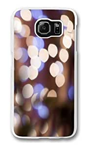 Bokeh light Polycarbonate Hard Case Cover for Samsung S6/Samsung Galaxy S6 Transparent by lolosakes