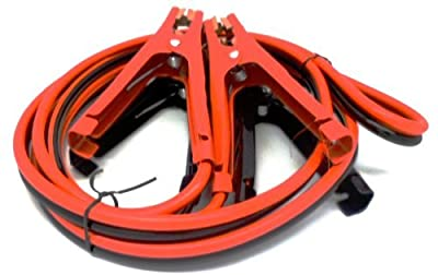 300 Amp 8 Gauge Jumper Cables Extra Long 10ft No Tangle Battery Booster Cables 10 feet with FREE Travel Case