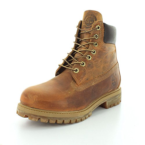Timberland AF 6 in Annvrsry Org, Stivali Uomo Burnt Orange Worn Oiled