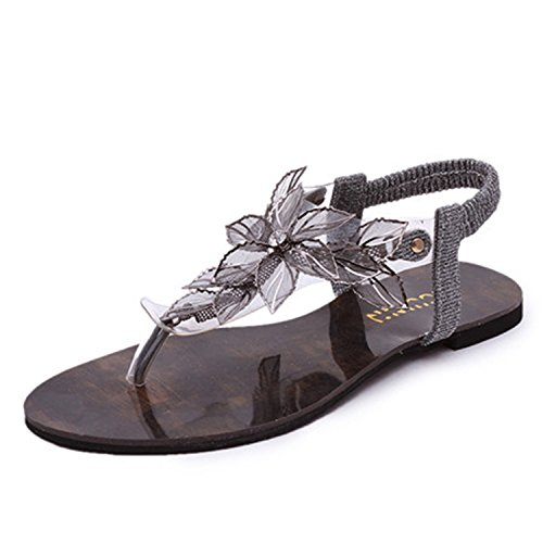 Feilongzaitianba Flat Sandals For Women On Sale Under 147 Women Sandals Vintage Style Casual Slip On Flat Sandals Summer Shoes Women Gladiator Sandals 1 - Map Mills Arundel
