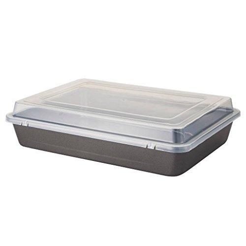 """Wilton Ultra Bake Pro 9""""x13"""" Oblong Cake Pan w/ Cover"""