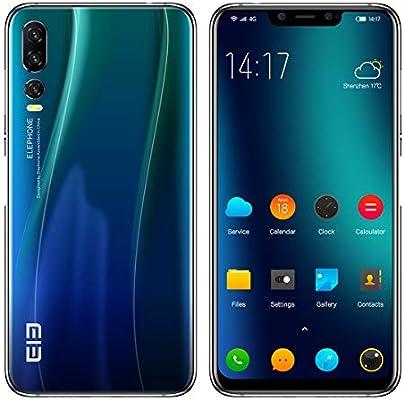 ELEPHONE A5 Smartphone Libre - 6.18FHD + súper-Vista Pantalla ...