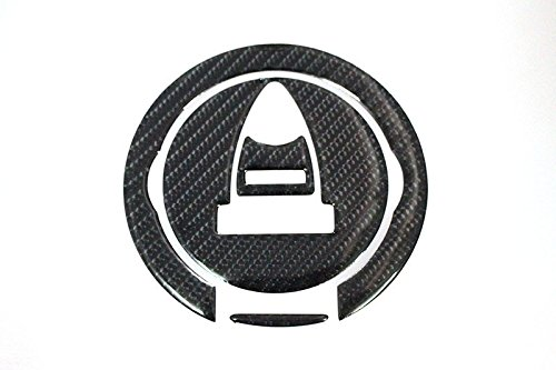 Tank Cover Ducati (3D Carbon Fiber Tank Gas Cap Pad Filler Cover Sticker Decals For DUCATI DIAVEL 1198 10-14 MONSTER796 10-14)