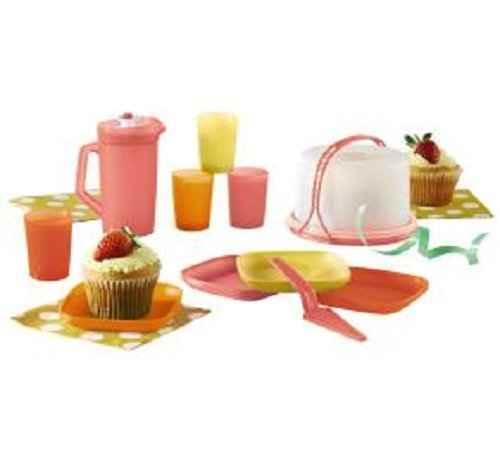 Tupperware Mini Party Serving Set Kids Summer 2014