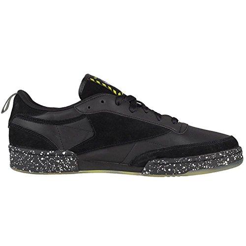 Reebok - Zapatillas de Material Sintético para hombre negro negro