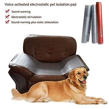 Pawaca - Almohadilla de Entrenamiento para Mascotas en Interiores con Choque eléctrico, Control de Voz