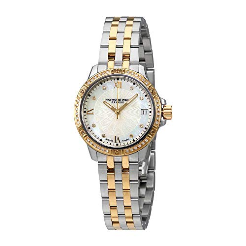 Raymond Weil ' Tango' Quartz Stainless Steel Casual Watch, Color:Two Tone (Model: ()