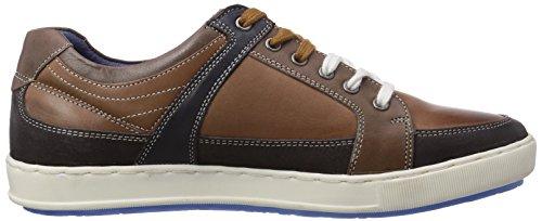 Manitu 641047 Herren Sneakers Braun (Cognac)
