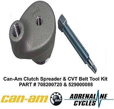 OEM Can Am Maverick X3 Secondary Clutch Spreader Tool /& Bolt 708200720