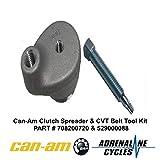 Can Am Maverick X3 clutch spreader CVT belt tool #708200720-529000088