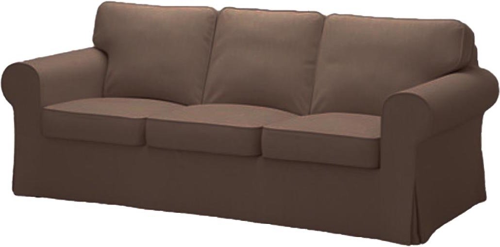 Amazon.com: Ikea Ektorp 3 Seat Sofa Cotton Cover Replacement Is Custom Made  Slipcover For IKea Ektorp Sofa Cover (Coffee Cotton): Home U0026 Kitchen
